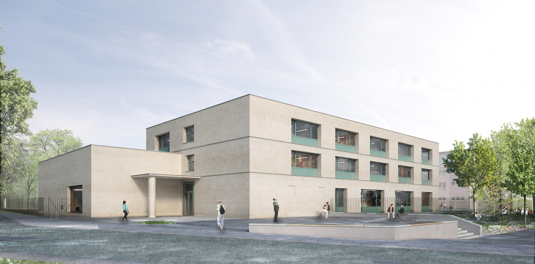 Planung des Neubaus