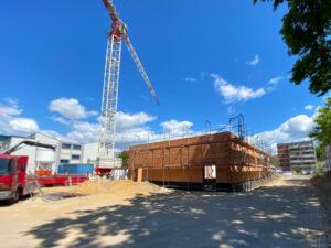 Foto einer Baustelle